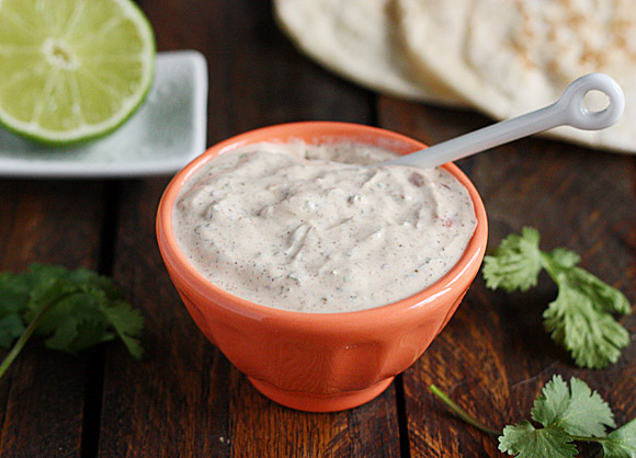 Fish taco sauce recipe at SoupAddict.com