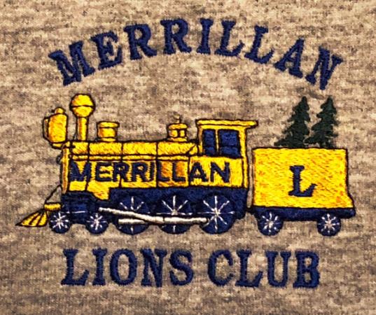 Merrillan Lions Club logo