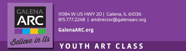 2021 Summer Youth Art Thursdays registration logo