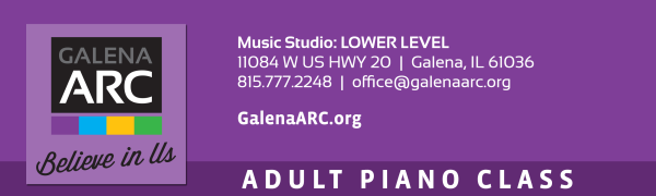 Adult Keyboard Chording Class registration logo