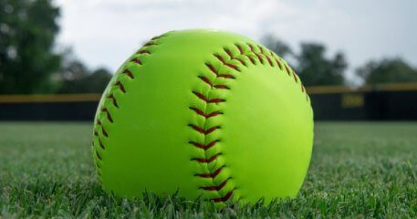 Adult Softball Women's AND Co-Ed Division registration logo
