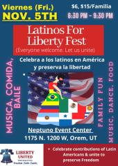Diverse Liberty Celebration registration logo
