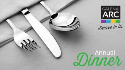 Galena Art & Recreation Center Annual Dinner registration logo