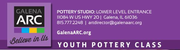 GRADES 3-7 Handbuilding Pottery/Garden Art registration logo