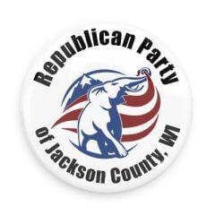 Jackson GOP Caucus registration logo