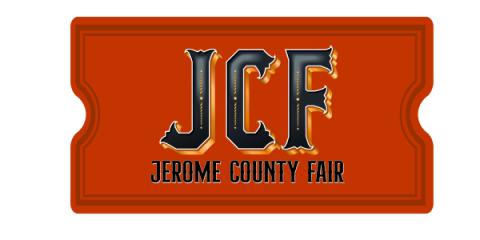 Jerome County Fair- Concert registration logo