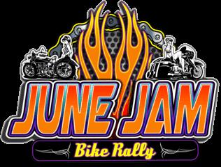 June Bike Jam Vendor Form registration logo