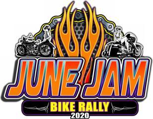 June Jam Bike Rally registration logo