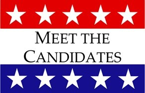 Meet the Candidates registration logo