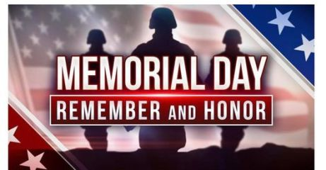 Memorial Day Tribute registration logo