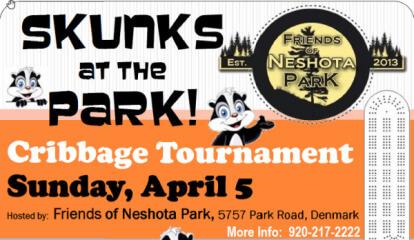 Skunks at the Park Cribbage Tournament registration logo