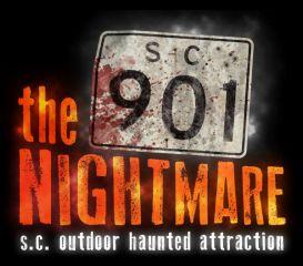 The 901 Nightmare registration logo