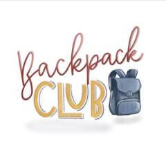 The Sevier County Backpack Club Fundraiser registration logo