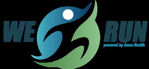 WE Run- Cherokee registration logo