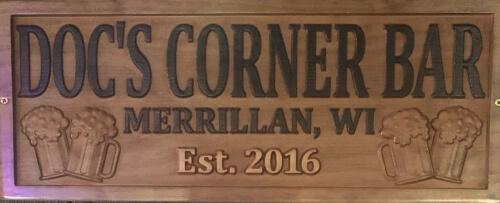 Doc's Corner Bar logo