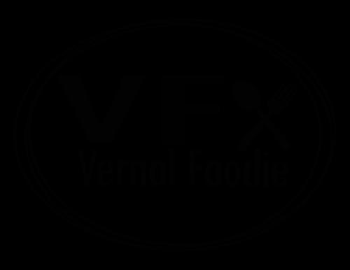 Vernal Foodie  logo