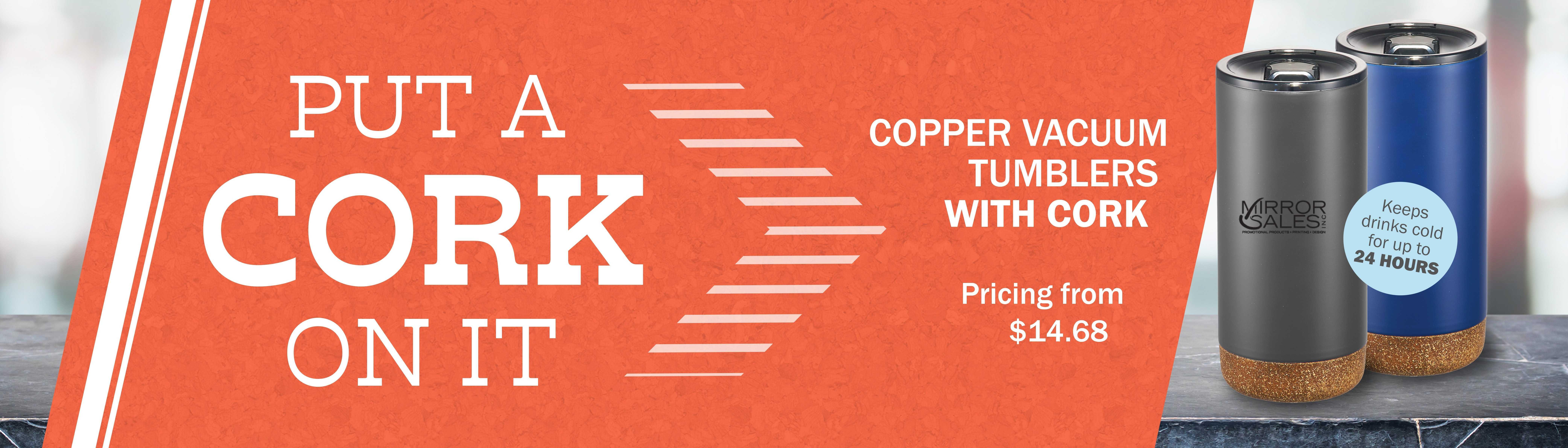 AIM Copper Tumbler