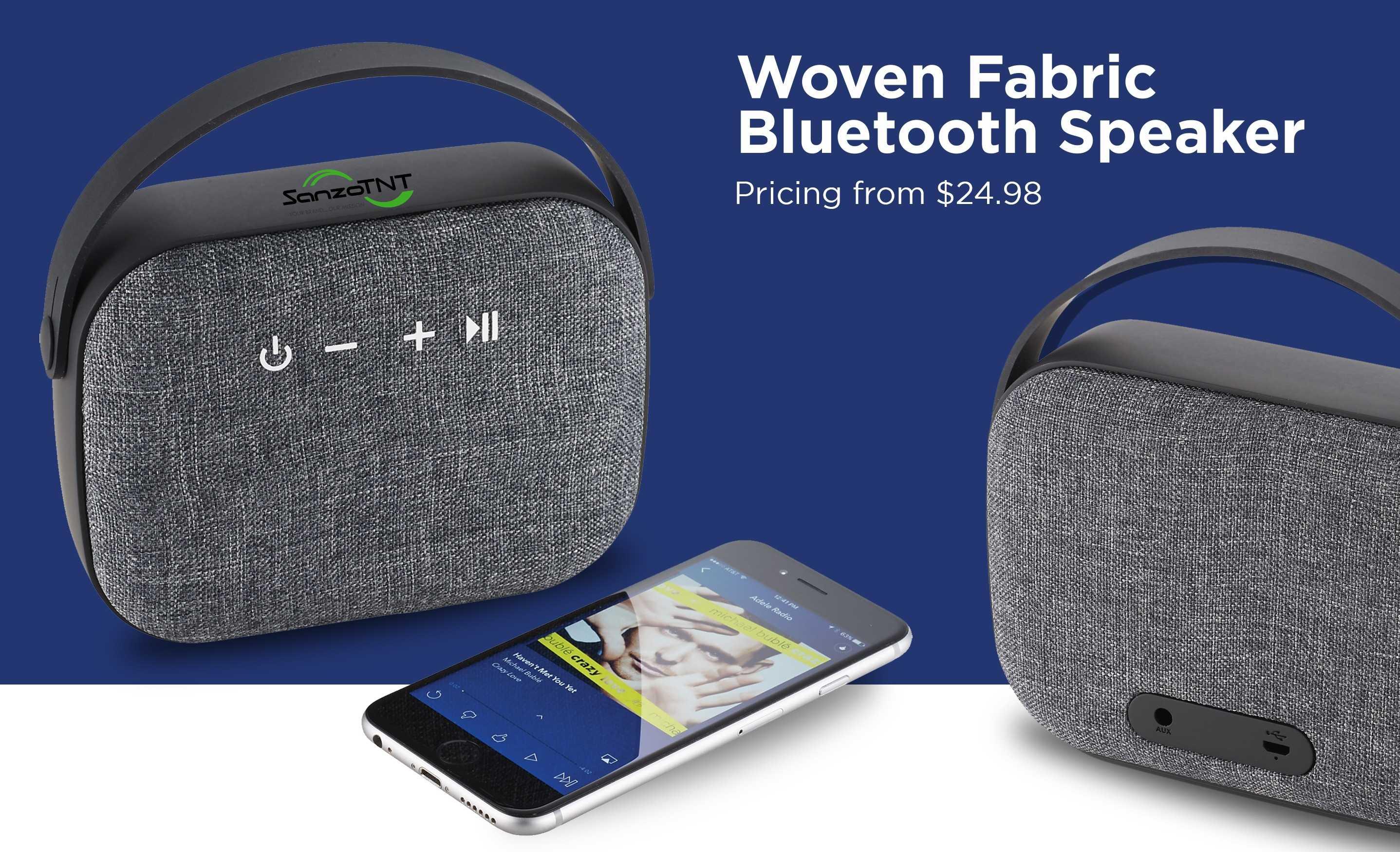 AIM Woven Bluetooth Speaker