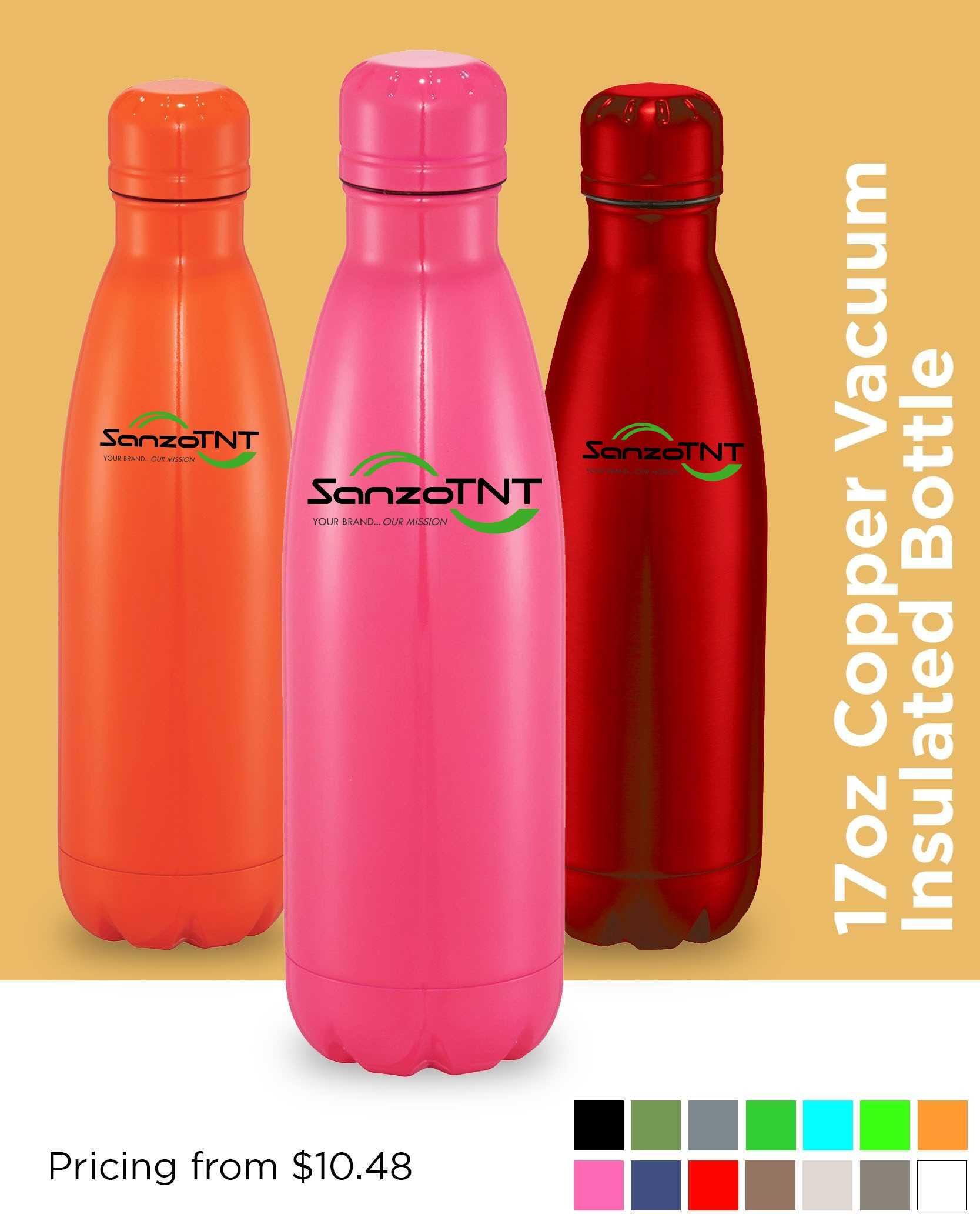 AIM Copper Insulated Bottle