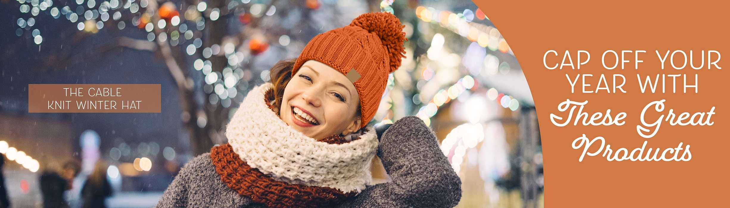 Knit Winter Hat AIM
