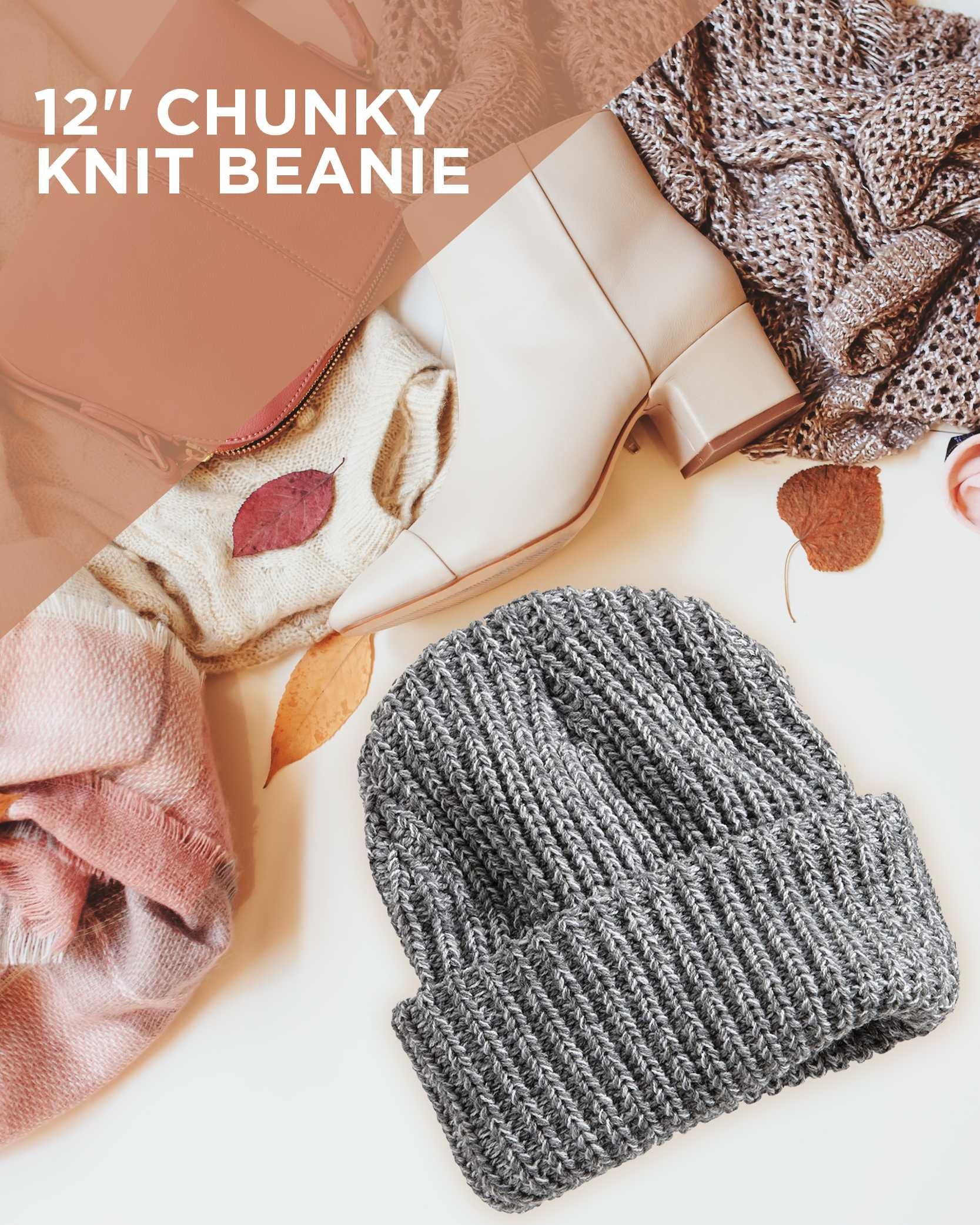 Chunky Knit Beanie AIM
