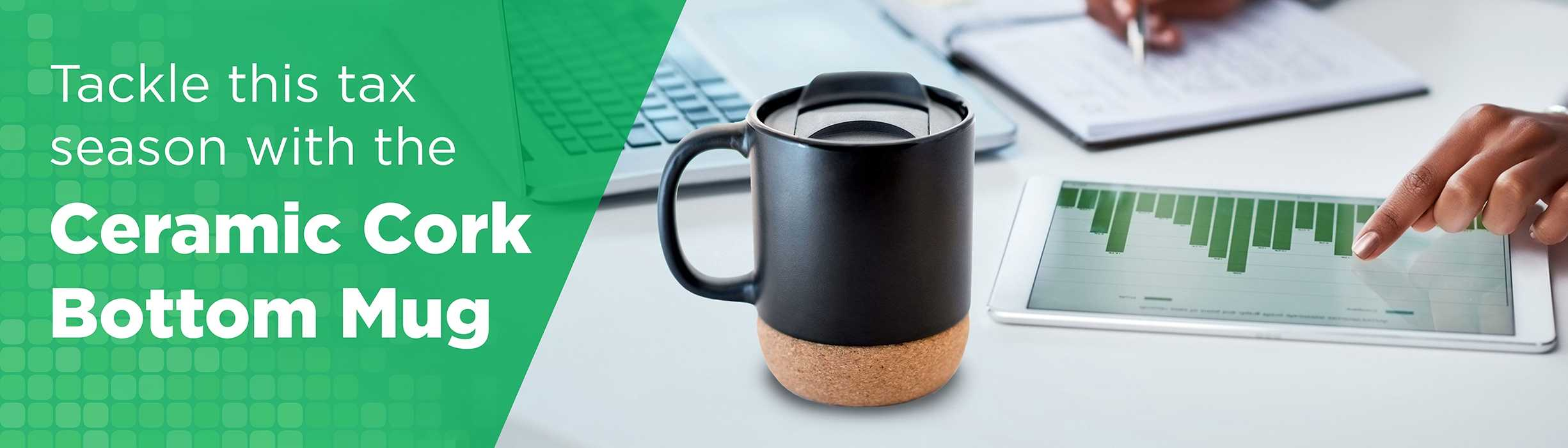 Ceramic Cork Bottom Mug AIM