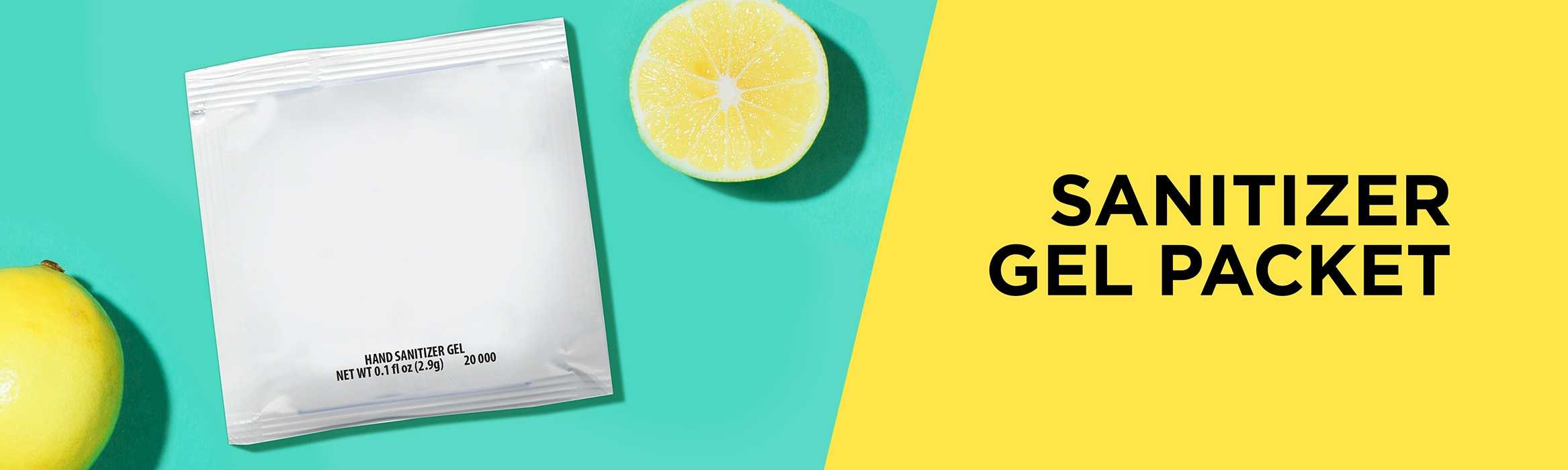 Sanitizer Gel Packet AIM
