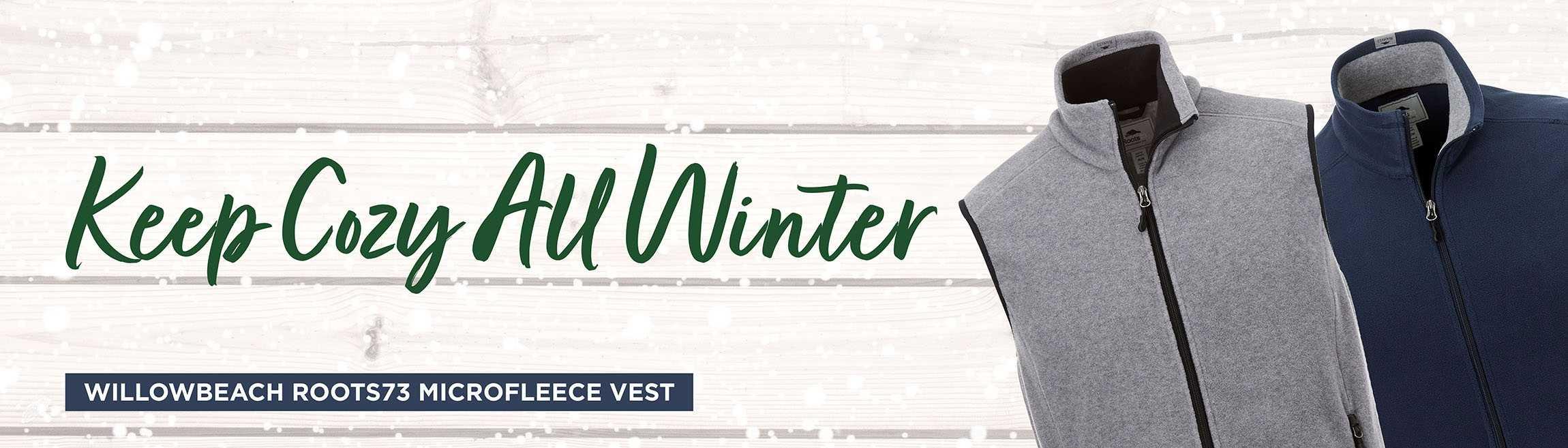 Willowbeach Microfleece Vest AIM