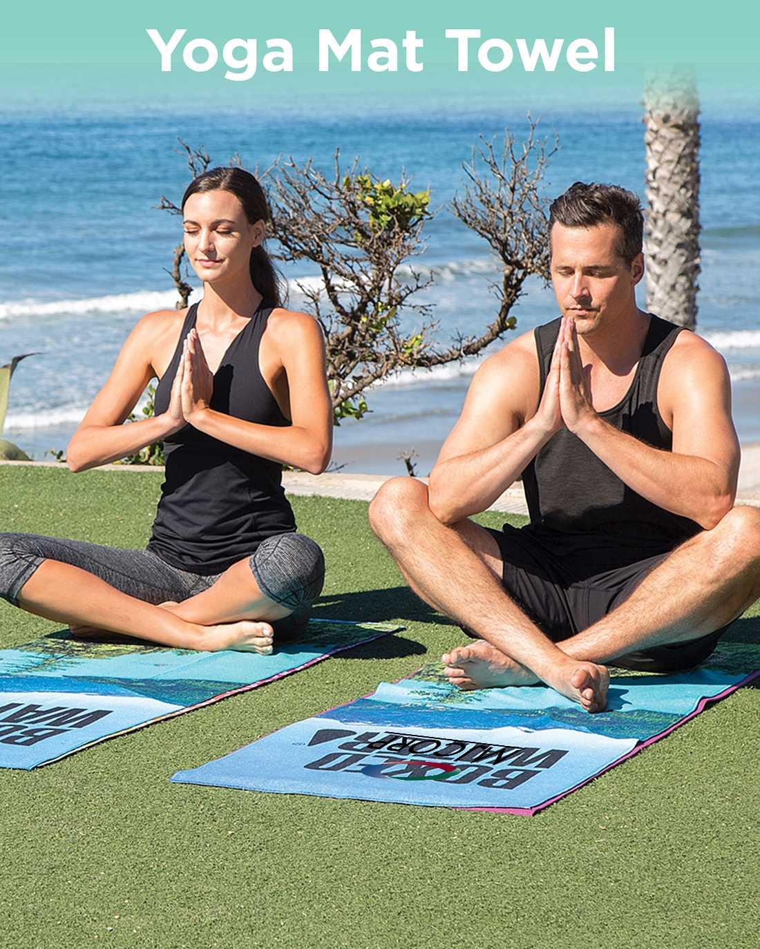 Yoga Mat Towel AIM
