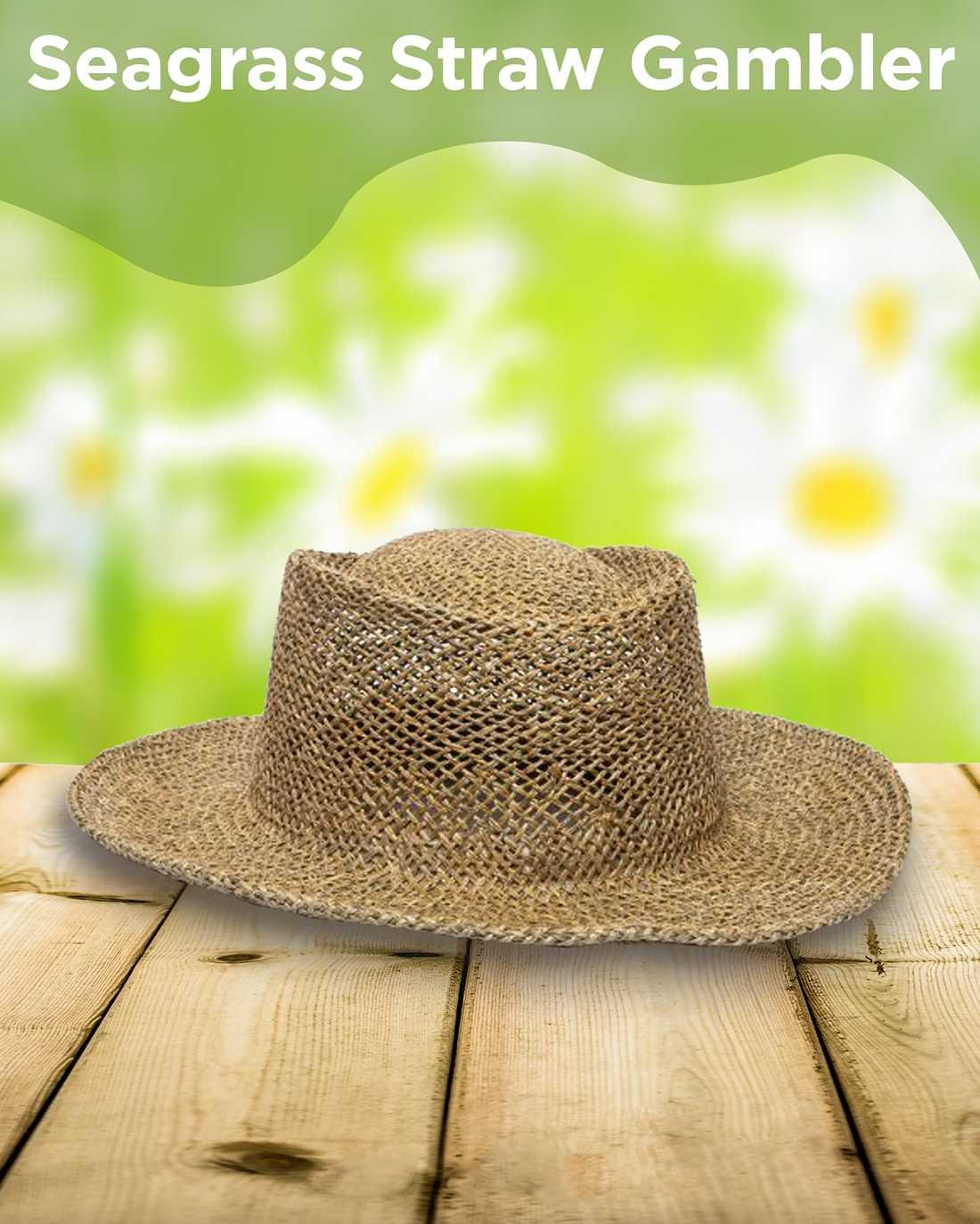 Seagrass Straw Gambler AIM