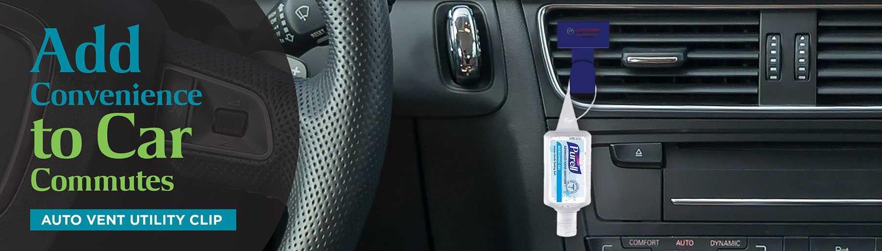 Auto Vent Utility Clip AIM