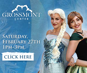 Meet the Ice Sisters for some Frozen Fun in San Diego at Grossmont Center