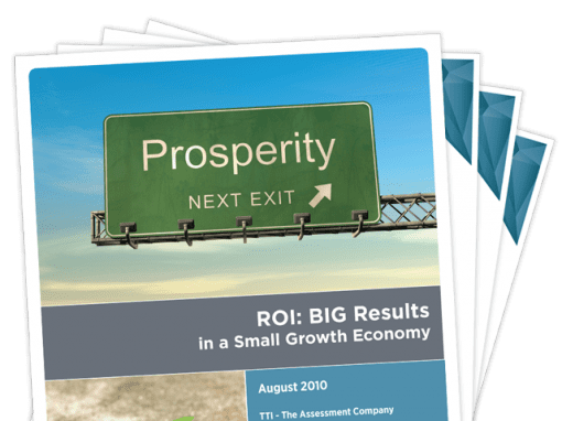 ROI: Big Results in a Small Growth Economy