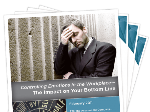 Controlling Emotions in the Workplace — The Impact on Your Bottom Line