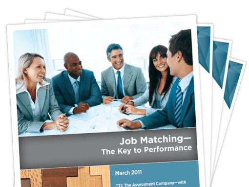 Job Matching — The Key to Performance