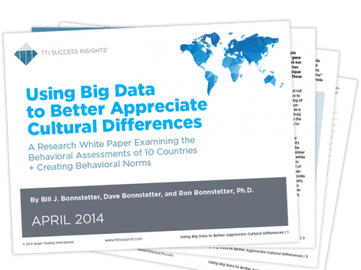 Using Big Data to Better Appreciate Cultural Differences