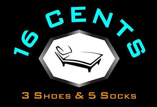 16 Cents 3 Shoes & 5 Socks