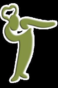Green man 200x3