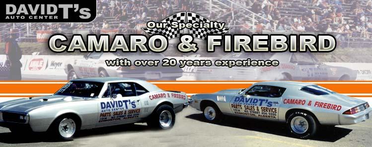David T's Camaro & Firebird Auto Center