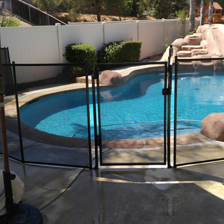 Nathans Pool Fence