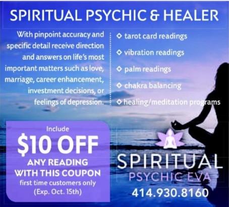 Psychic Readings By Eva