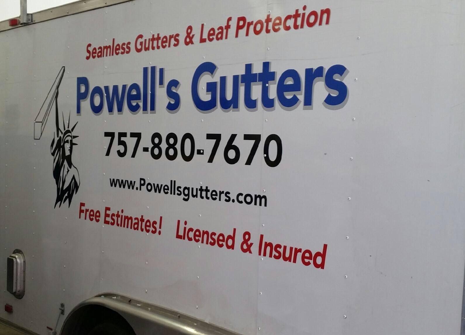 Powell's Seamless Gutters