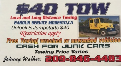 $40 Tow