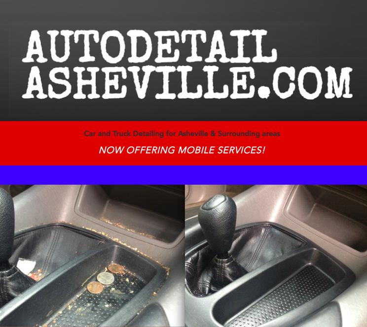 Auto Detail Asheville ~ Now w Mobile Srvc!