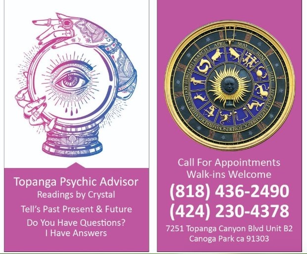 Topanga Psychic Advisor