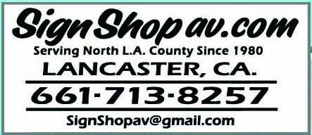 Sign Shop AV