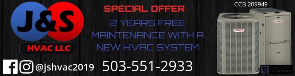 J & S HVAC LLC