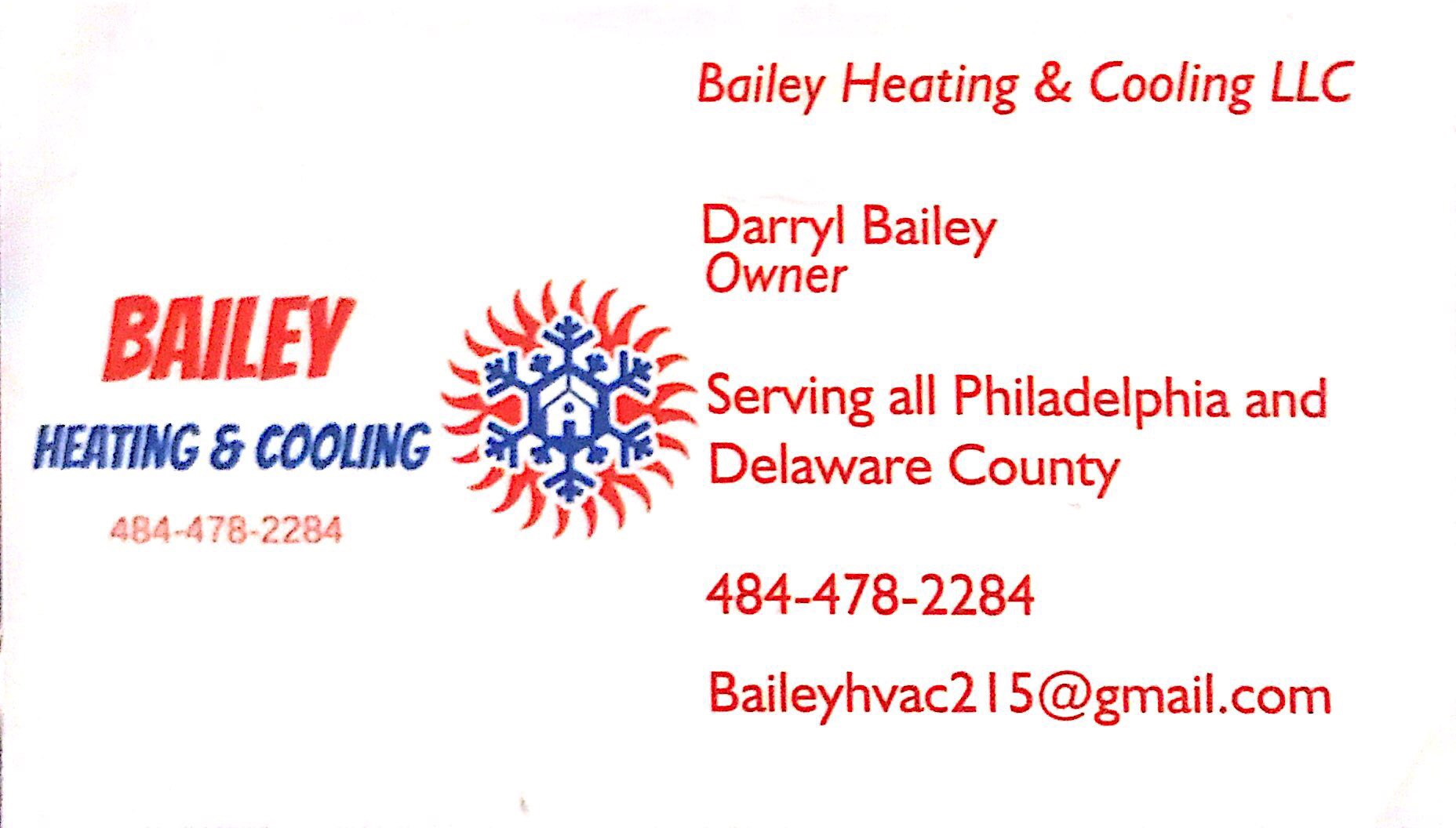 Bailey Heating & Cooling LLC