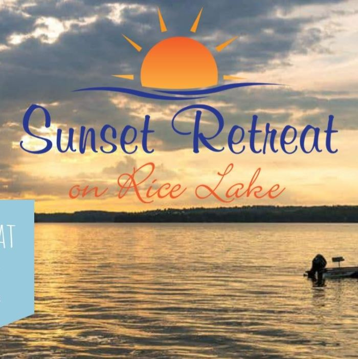 Sunset Retreat on Rice Lake