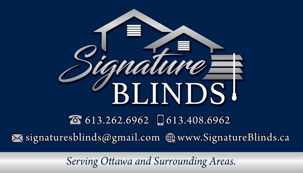 Signature Blinds